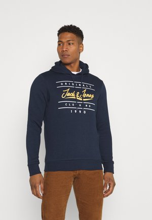 JORSTATTIONARY HOOD - Hoodie - navy blazer