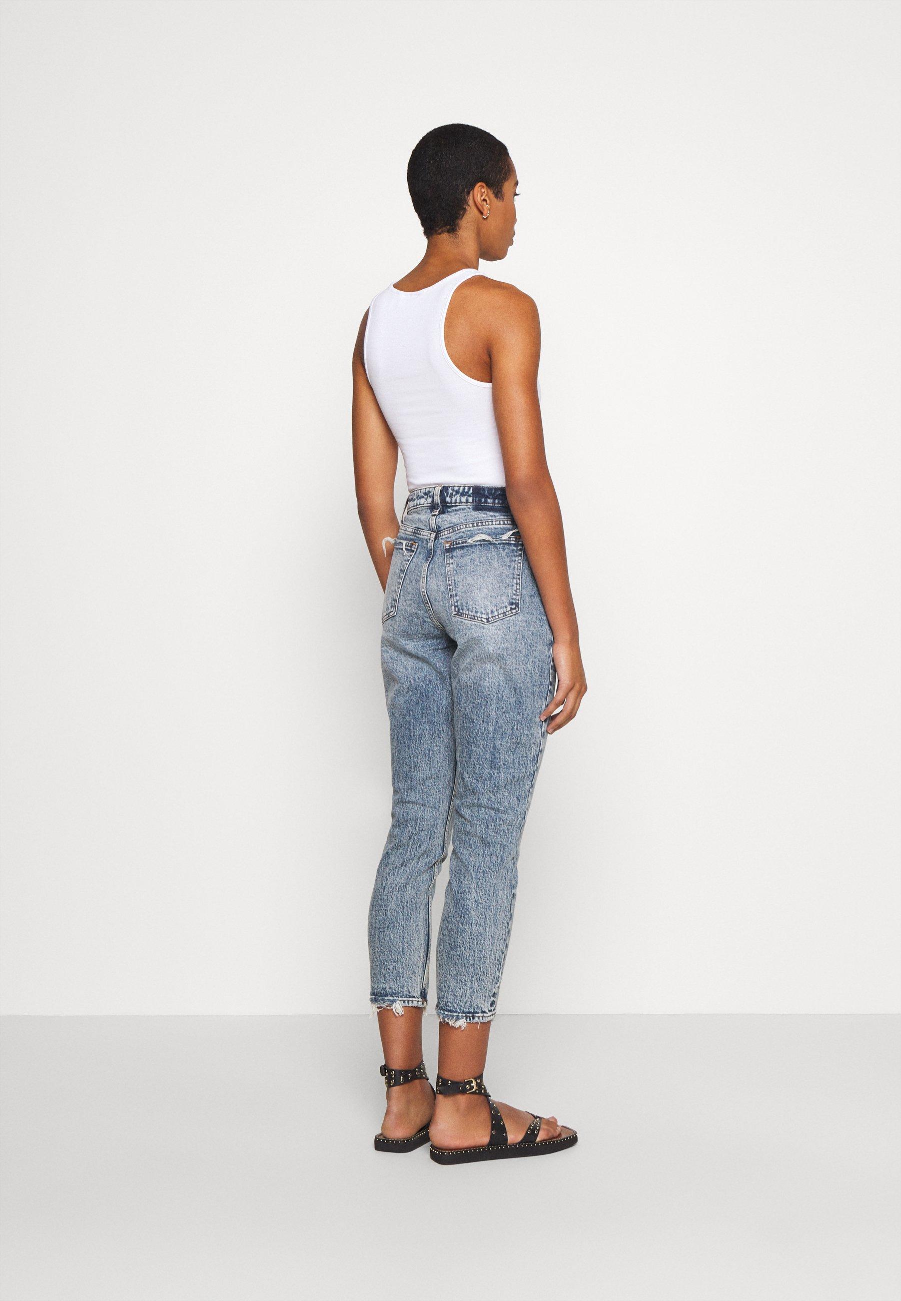 Abercrombie & Fitch Jeans Slim Fit - Medium Destroy