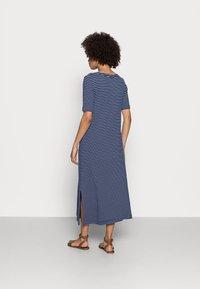Esprit - WAFFLE DRES - Jersey dress - dark blue - 2