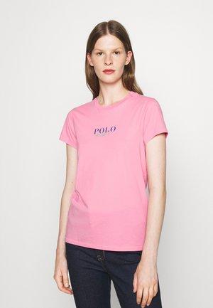 SHORT SLEEVE - Print T-shirt - beach pink