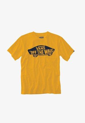 MN VANS OTW - T-shirts print - saffron/dress blues