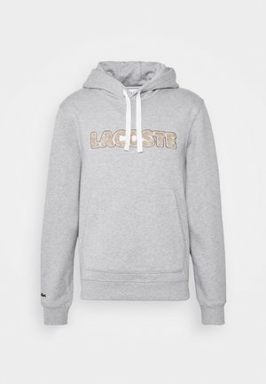 Hoodie - silver chine