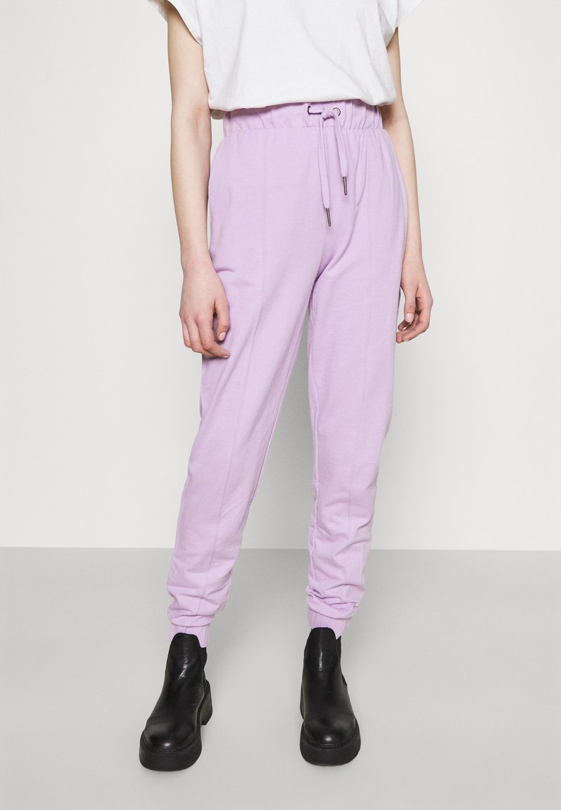Noisy May - NMMALOU PANTS - Tracksuit bottoms - orchid bloom