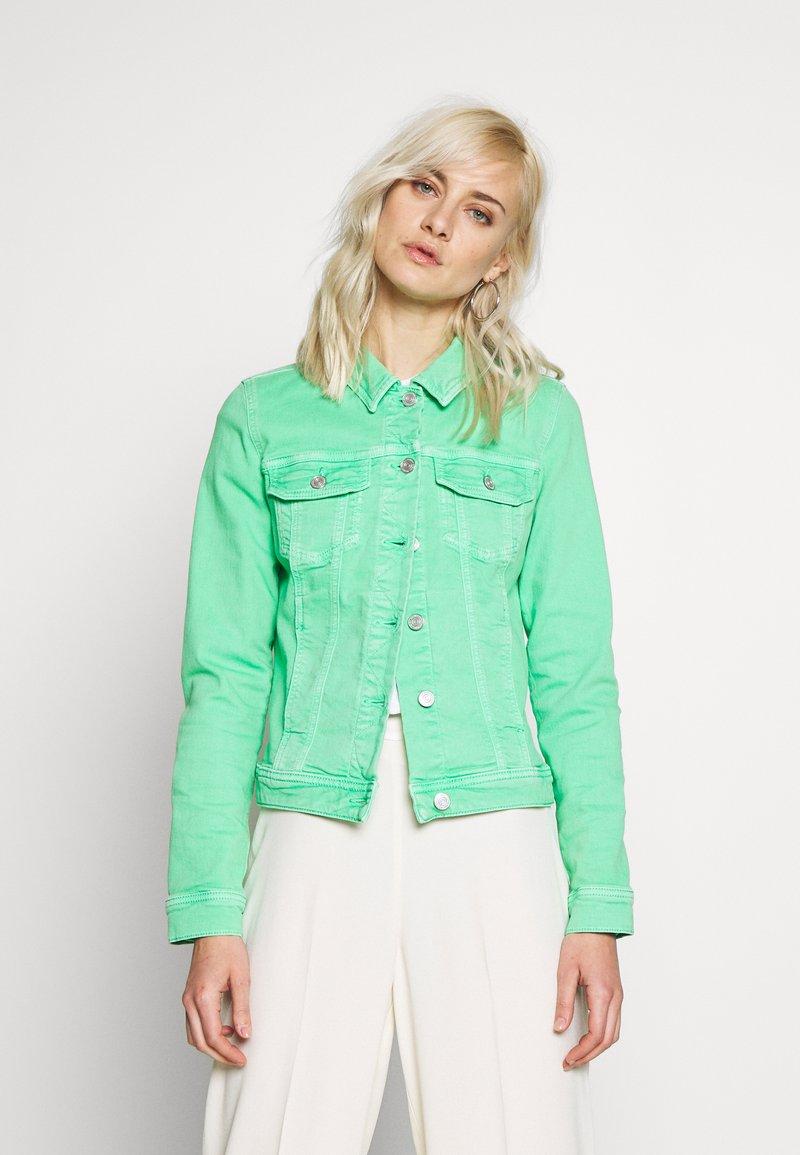 comma casual identity - Denim jacket - light green