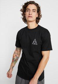 HUF - CITY ROSE TEE - Print T-shirt - black - 2