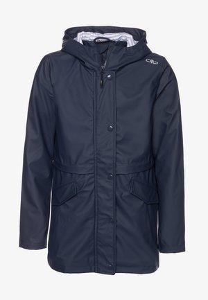 KIDS FIX HOOD - Waterproof jacket - black blue