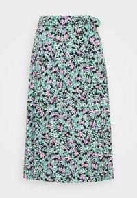 Marks & Spencer London - FLOR SKIRT - A-line skjørt - mint - 0