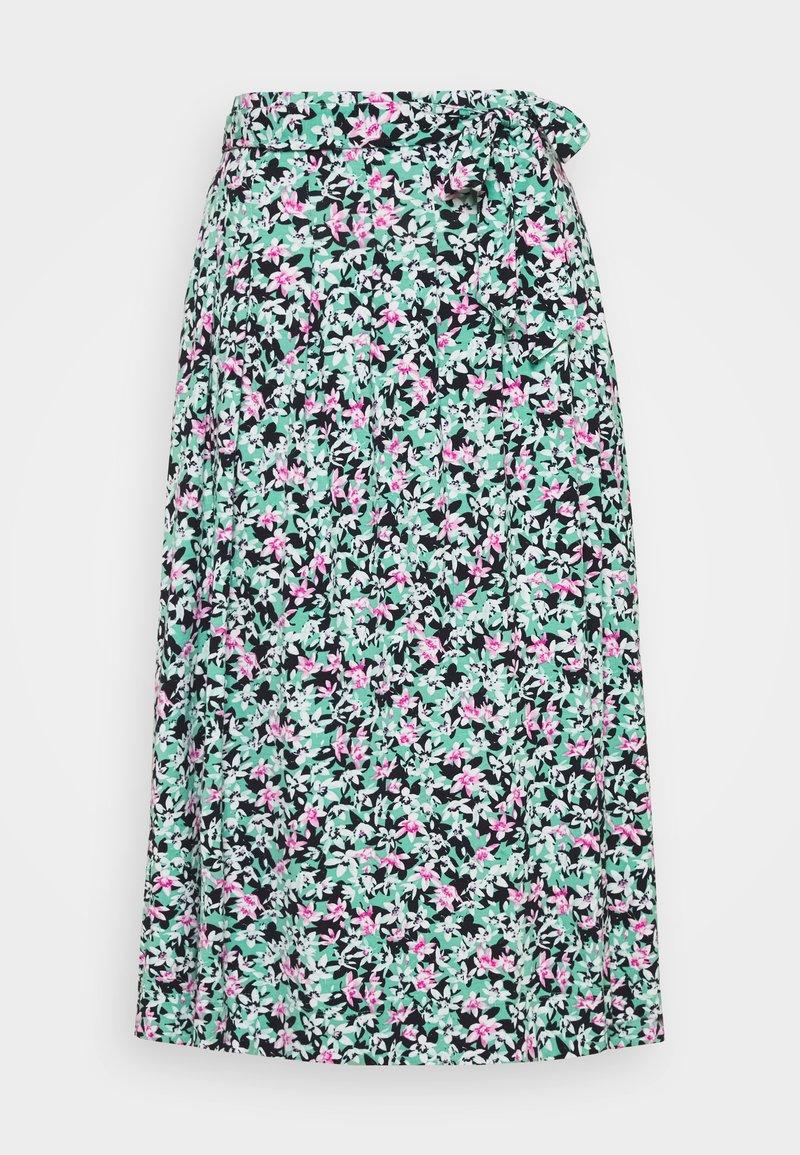 Marks & Spencer London - FLOR SKIRT - A-line skjørt - mint