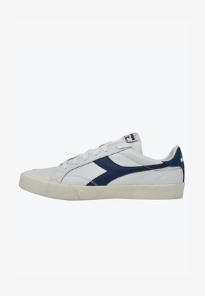 MELODY DIRTY - Trainers - bianco-blu denim scuro