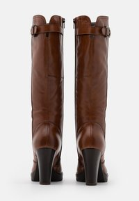 Anna Field - LEATHER - High heeled boots - cognac - 3