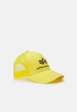 BASIC TRUCKER UNISEX - Caps - prime yellow