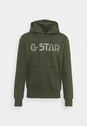 G-STAR HDD SW - Hoodie - dark bronze green