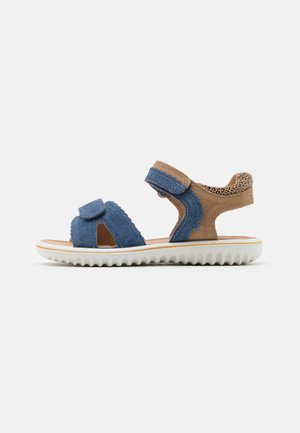 SPARKLE - Sandály - blau/beige