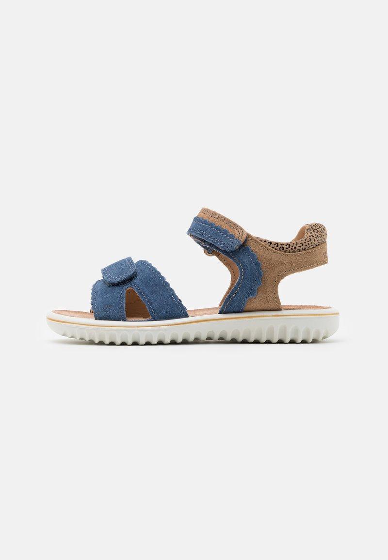 Superfit - SPARKLE - Sandály - blau/beige
