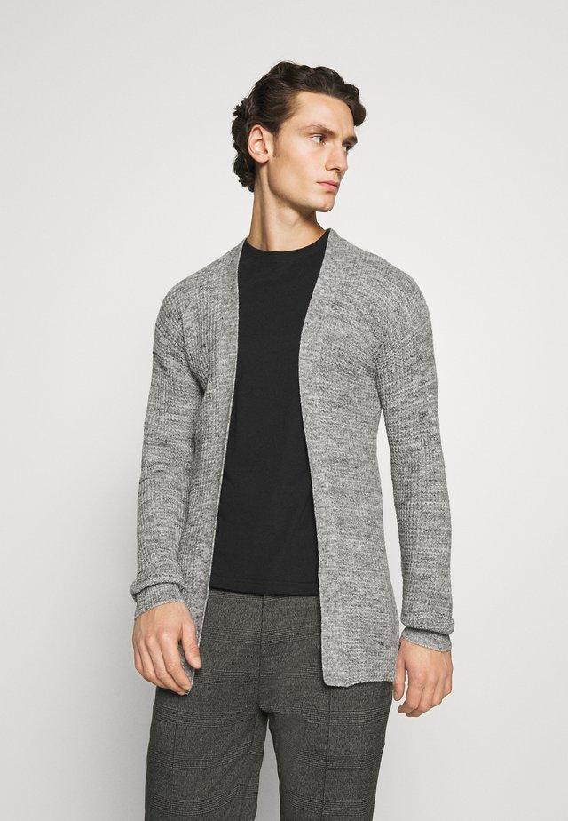 JPRBLAFREE OPEN CARDIGAN - Cardigan - light grey melange