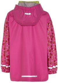 Playshoes - Waterproof jacket - pink - 1