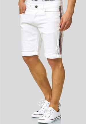 Jeansshort - off-white