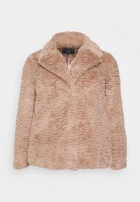 Dorothy Perkins Curve - SHORT WIGGLE - Winter jacket - mink - 5