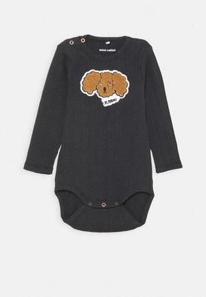 BABY FLUFFY DOG PATCH UNISEX - Body - black