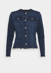 7 for all mankind - JACKET BAIR PARK AVENUE - Denim jacket - dark blue - 4