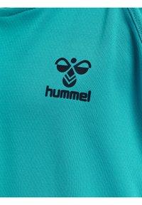Hummel - ACTION  - Print T-shirt - bluebird/dark sapphire - 3
