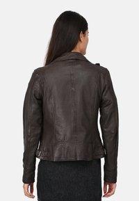 Oakwood - Leather jacket - light brown - 2