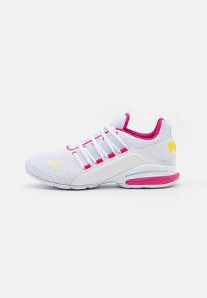 AXELION JR UNISEX - Trainings-/Fitnessschuh - white/beetroot purple