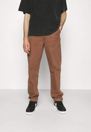 CHORE PANT - Trousers - toffee canvas