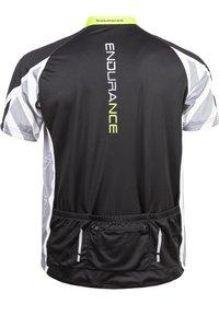 Endurance - RADTRIKOT PARMER M CYCLING - Print T-shirt - black - 9