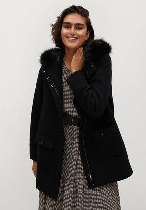 SALLY - Cappotto invernale - schwarz