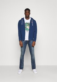 Levi's® - NEW ORIGINAL ZIP UP - Huvtröja med dragkedja - blues - 1