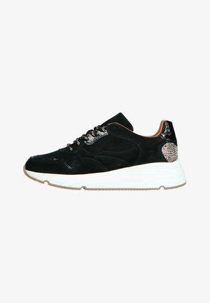 MIT GEPARDENMUSTER-DETAIL - Sneakers laag - schwarz
