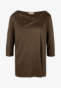 Triangle - MIT WASSERFALL - Long sleeved top - brown - 4