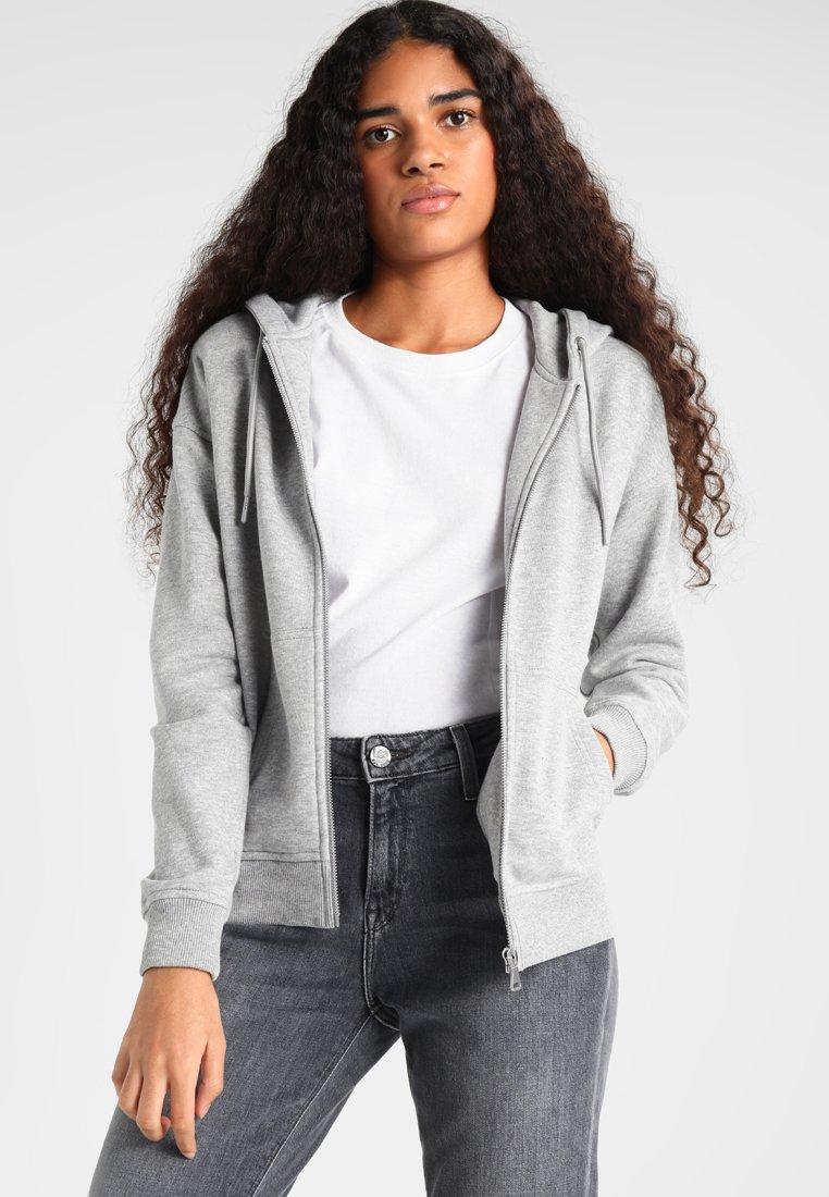 Urban Classics - Sweater met rits - grey