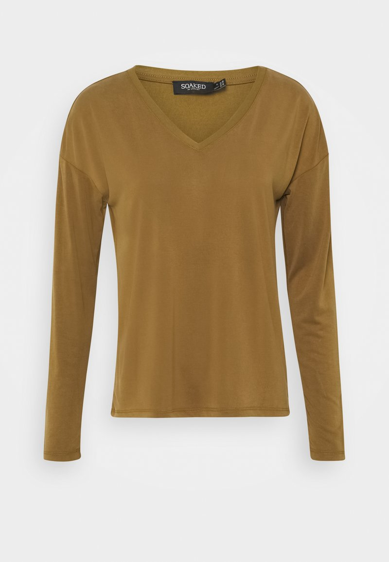 Soaked in Luxury - COLUMBINE - Long sleeved top - military olive