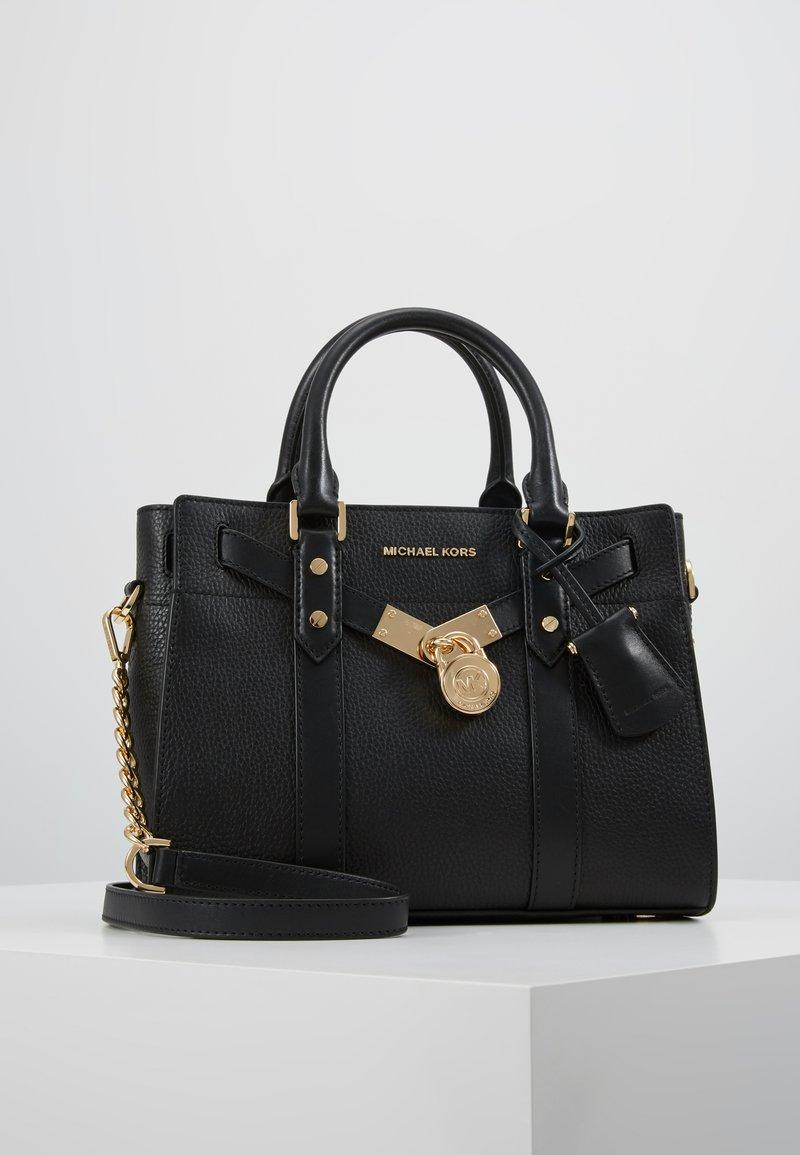 MICHAEL Michael Kors - NOUVEAU HAMILTON SATCHEL - Handtasche - black