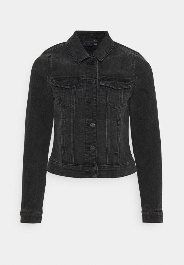 VMFAITH SLIM JACKET - Denim jacket - black