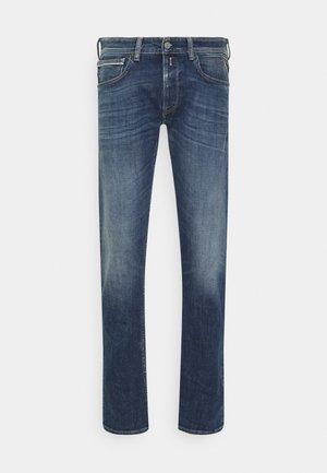 GROVER - Straight leg jeans - blue denim