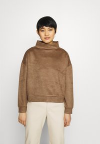 Opus - GELOUR - Sweatshirt - maple - 0