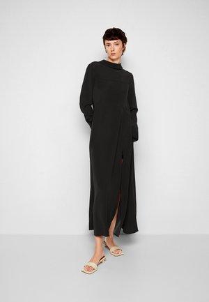 LONG SLEEVE MAXI DRESS - Maxi dress - black