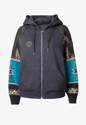 TURKANA - Sweatjacke - black