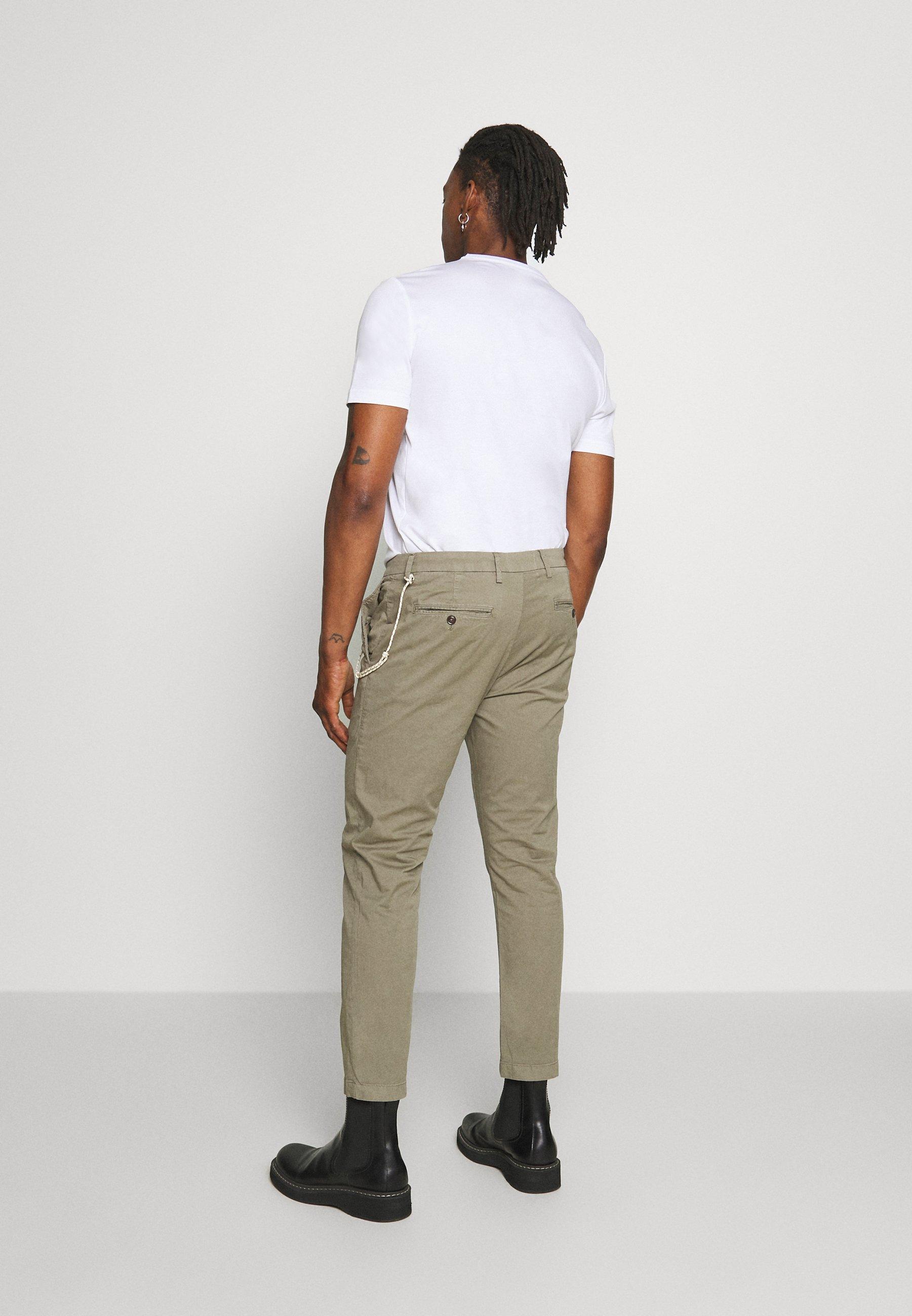 CLOSED ATELIER CROPPED - Pantalon classique - soft khaki