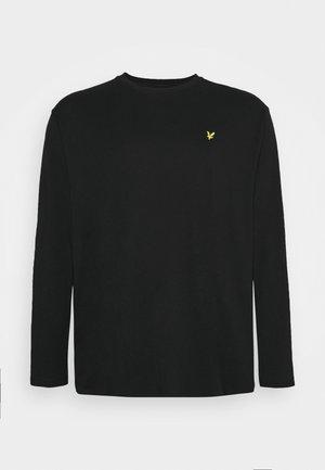 PLUS - Top sdlouhým rukávem - jet black
