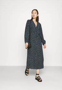 EDITED - NORA DRESS - Day dress - schwarz/blau - 1