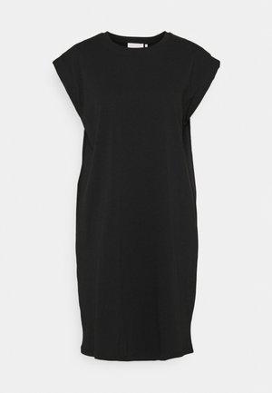 PORTER DRESS - Trikoomekko - noir