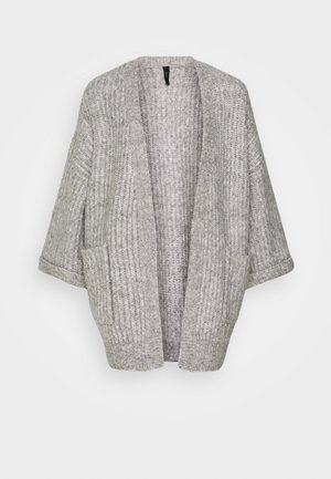 YASSUNDAY CARDIGAN - Strickjacke - light grey