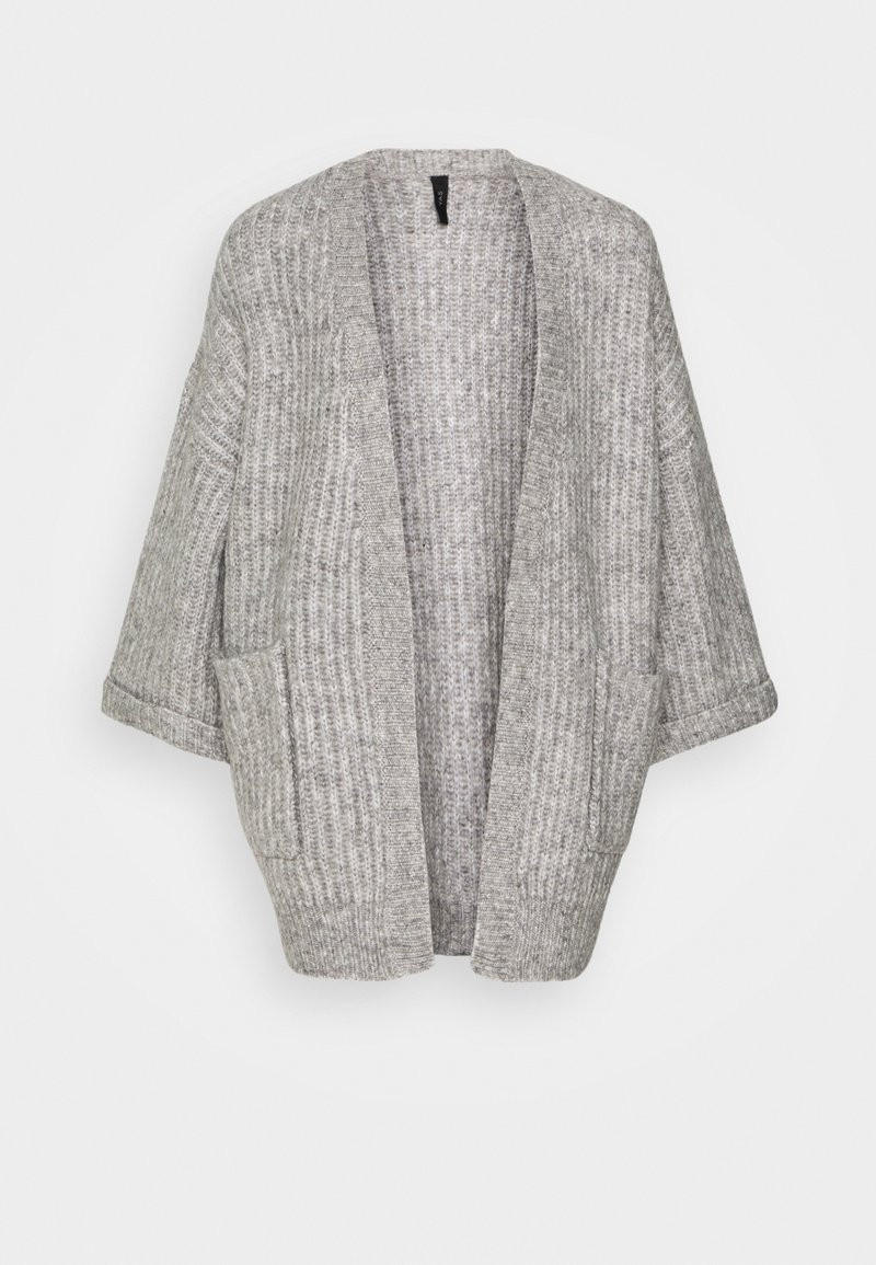 YAS - YASSUNDAY CARDIGAN - Gilet - light grey