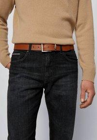 BOSS - TINO-LOGO - Belt business - brown - 1
