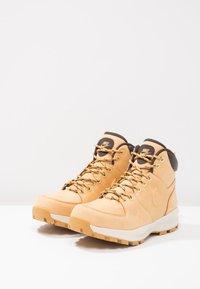 Nike Sportswear - MANOA - Lace-up ankle boots - beige / marron - 2
