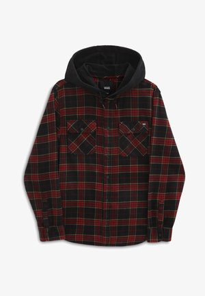 MN PARKWAY II - Shirt - pomegranate/black